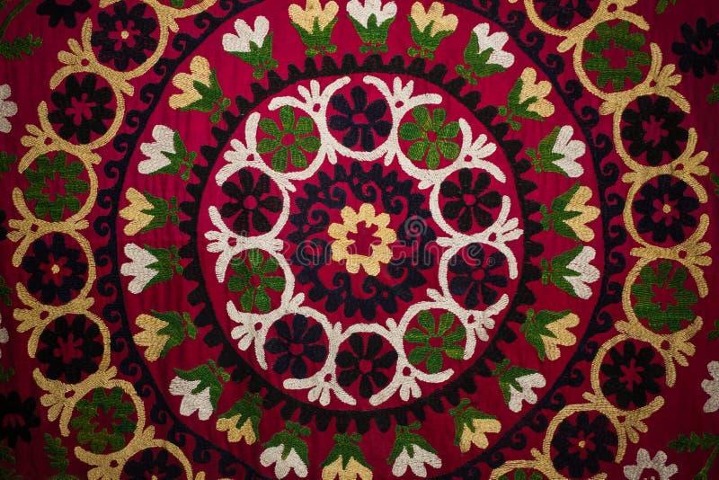 Παραδοσιακό κεντημένο ύφασμα στοκ φωτογραφία