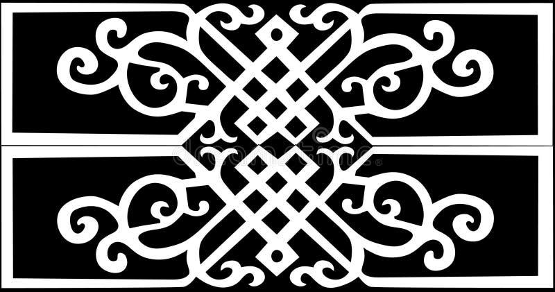 παραδοσιακό λευκό προτύ&pi απεικόνιση αποθεμάτων