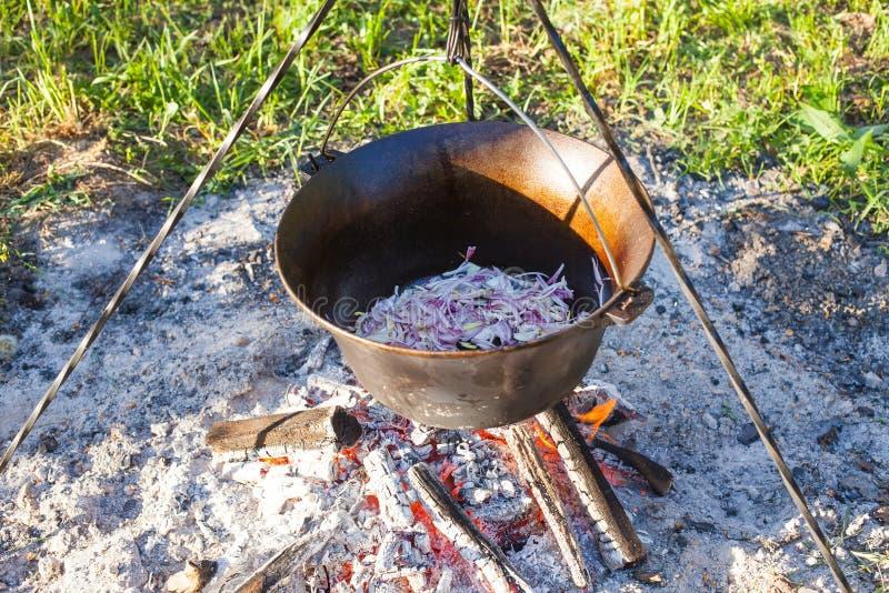 Παραδοσιακό ουγγρικό goulash στοκ εικόνες