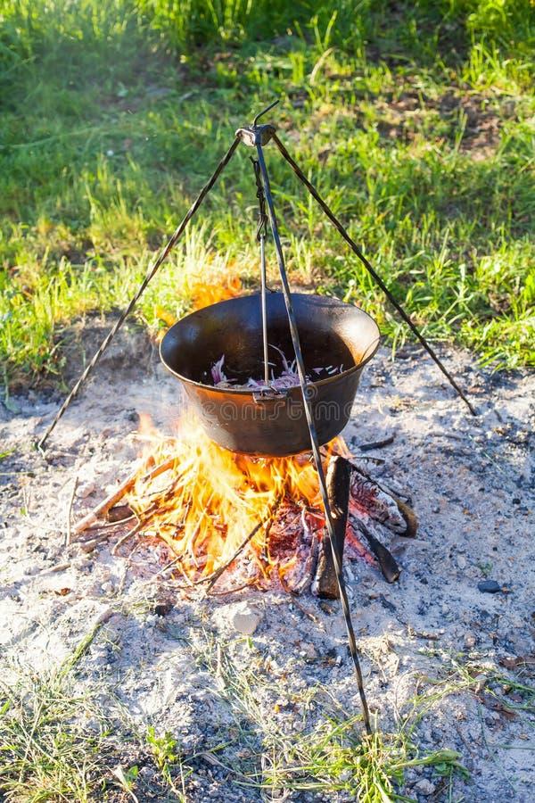 Παραδοσιακό ουγγρικό goulash στοκ φωτογραφία με δικαίωμα ελεύθερης χρήσης
