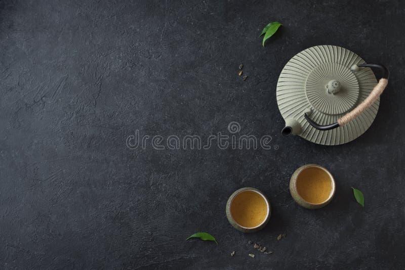 Παραδοσιακό σύνολο τσαγιού στοκ φωτογραφίες με δικαίωμα ελεύθερης χρήσης