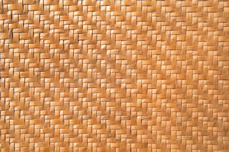 Παραδοσιακό ταϊλανδικό σχέδιο ινδικού καλάμου ύφους που γίνεται από το μπαμπού handcraft στοκ φωτογραφίες με δικαίωμα ελεύθερης χρήσης