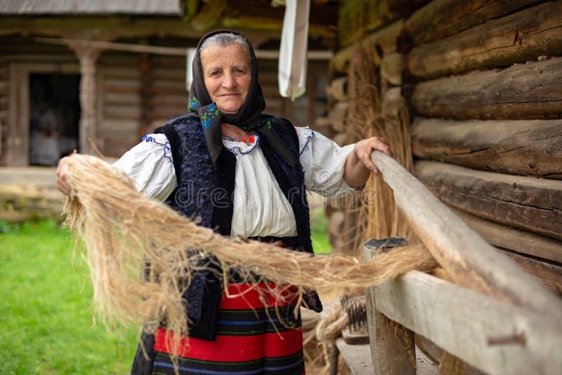 Παραδοσιακό χέρι Κραφτ από τη Ρουμανία, νομός Maramures στοκ φωτογραφία
