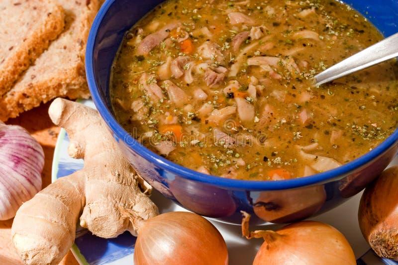 παραδοσιακό tripe σούπας στοκ εικόνες