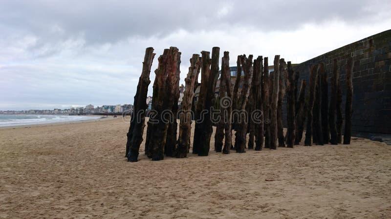 Παραλία Αγίου Malo στοκ φωτογραφίες