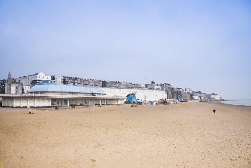 παραλία Αγγλία Κεντ ramsgate στοκ εικόνα με δικαίωμα ελεύθερης χρήσης