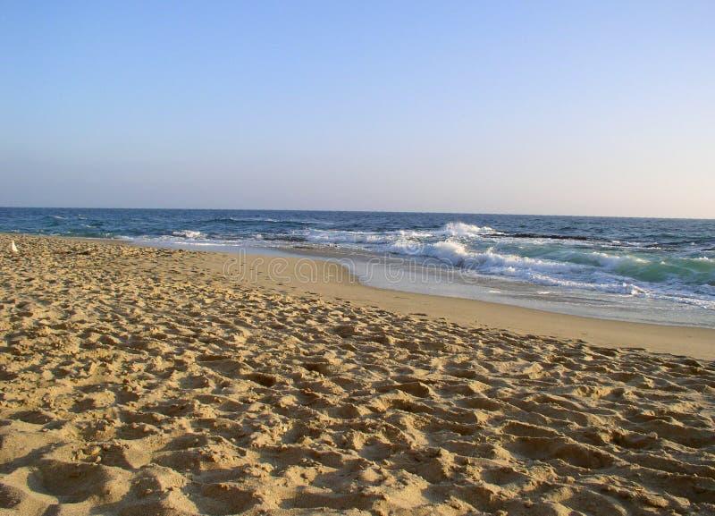 παραλία αμμώδης στοκ φωτογραφίες με δικαίωμα ελεύθερης χρήσης