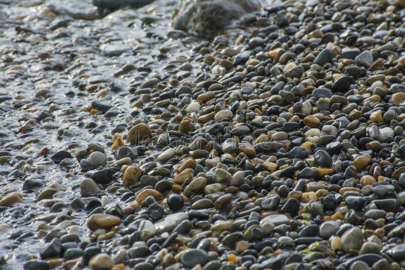 Παραλία βράχων στοκ εικόνα με δικαίωμα ελεύθερης χρήσης