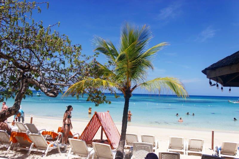 Παραλία δυτικών κόλπων, Ονδούρα στοκ εικόνα