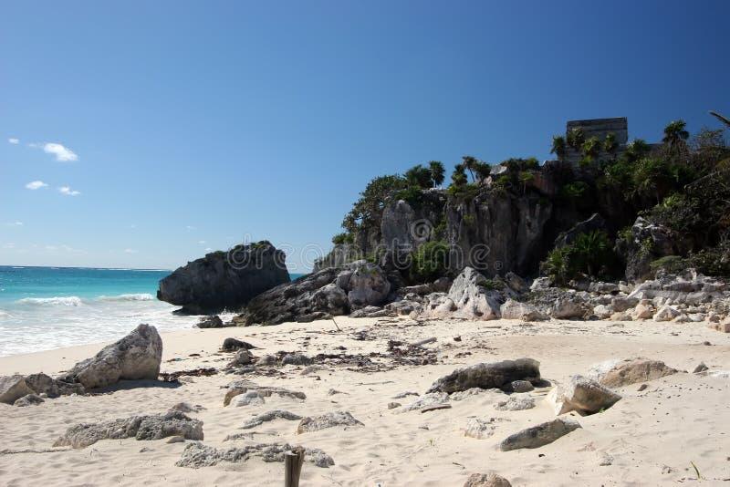 παραλία δύσκολη στοκ εικόνα με δικαίωμα ελεύθερης χρήσης