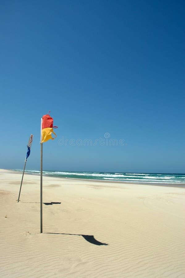 παραλία ηλιόλουστη στοκ φωτογραφία