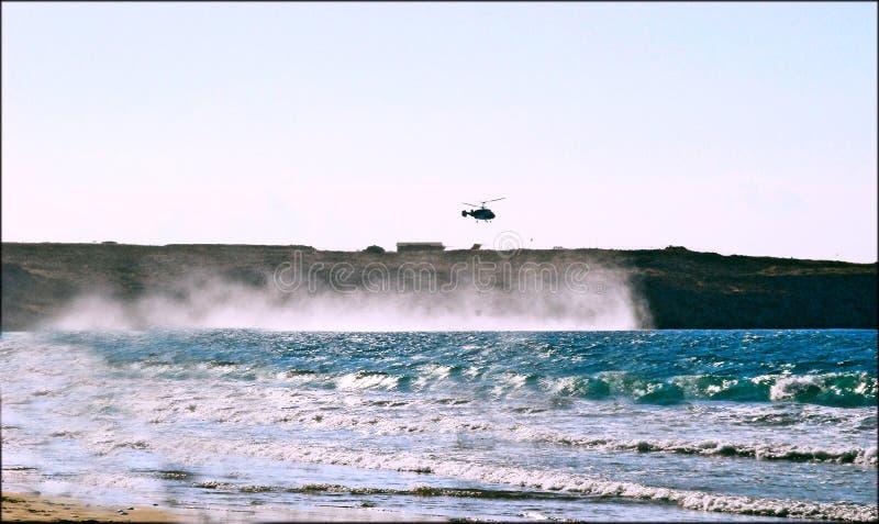 Παραλία Ηράκλειο Κρήτη Akti στοκ εικόνες με δικαίωμα ελεύθερης χρήσης