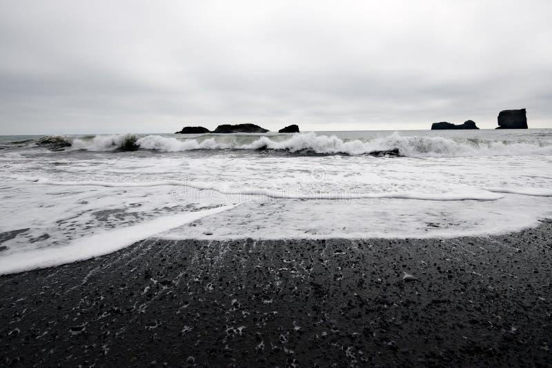 παραλία ηφαιστειακή στοκ φωτογραφία