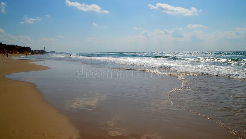 Παραλία θάλασσας το καλοκαίρι στοκ εικόνα