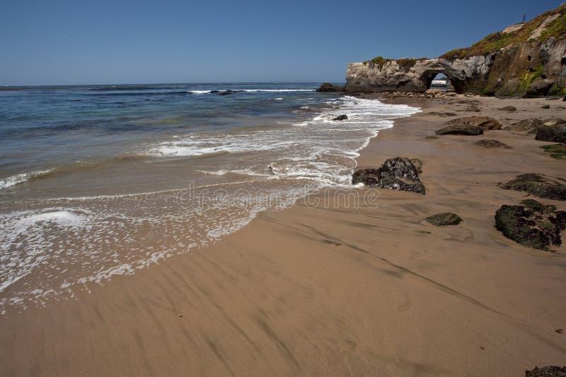 παραλία Καλιφόρνια στοκ εικόνα με δικαίωμα ελεύθερης χρήσης