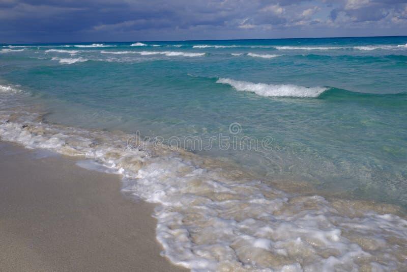 παραλία Κούβα στοκ εικόνα με δικαίωμα ελεύθερης χρήσης