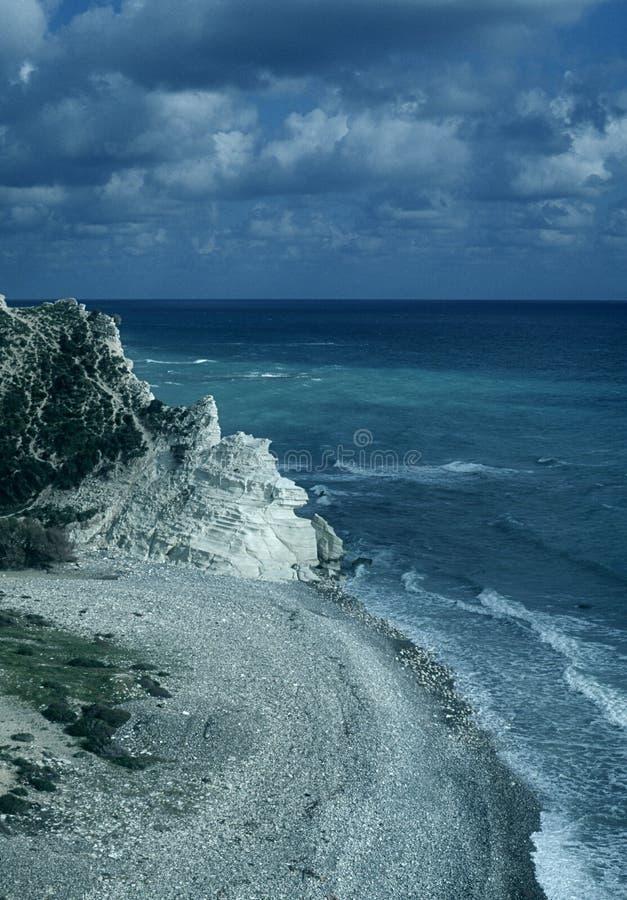 παραλία Κύπρος στοκ εικόνα με δικαίωμα ελεύθερης χρήσης