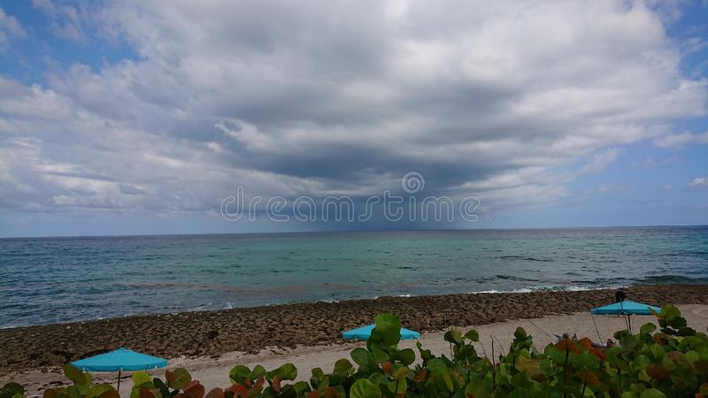 παραλία Μαϊάμι στοκ φωτογραφία με δικαίωμα ελεύθερης χρήσης