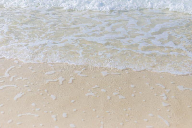 Παραλία με το κενό διάστημα r στοκ φωτογραφία