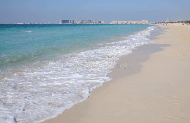 παραλία Ντουμπάι jumeirah στοκ εικόνα