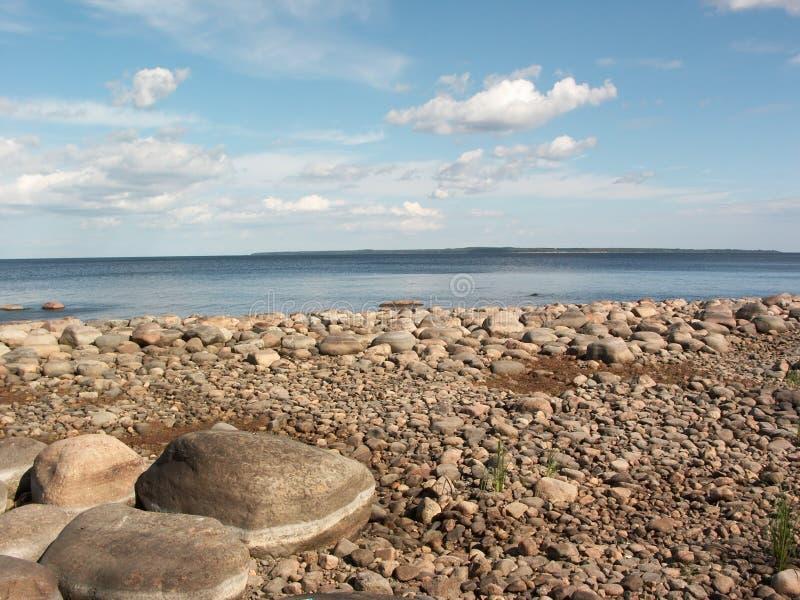 παραλία πετρώδης στοκ εικόνα με δικαίωμα ελεύθερης χρήσης