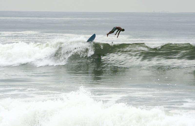 παραλία που γίνεται rockaway σε&r στοκ εικόνα