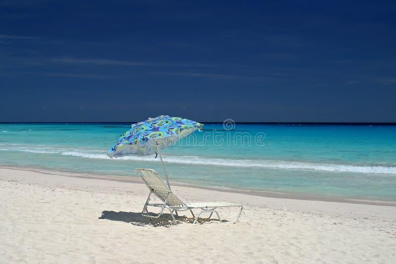 παραλία που εγκαταλείπεται στοκ φωτογραφία