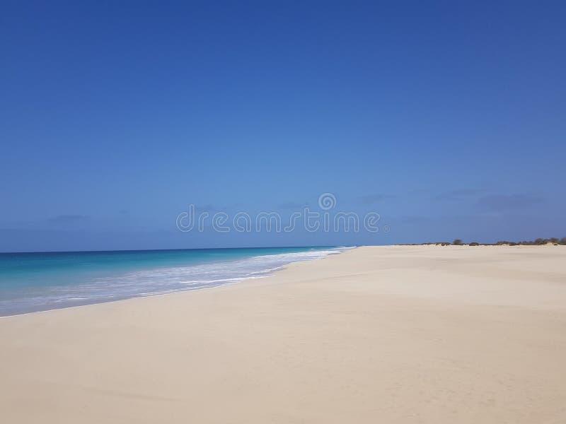 Παραλία Σάντα Μόνικα, Μπόα Βίστα, Πράσινο Ακρωτήριο στοκ φωτογραφία