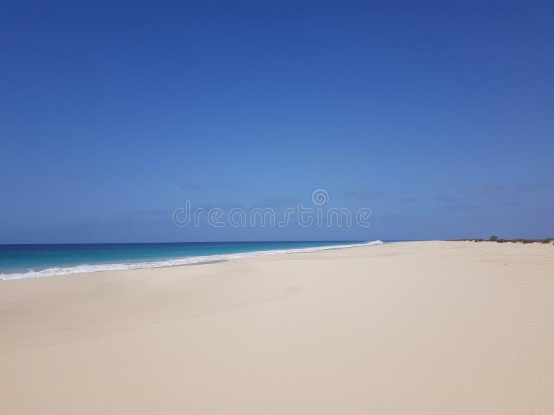 Παραλία Σάντα Μόνικα, Μπόα Βίστα, Πράσινο Ακρωτήριο στοκ εικόνα