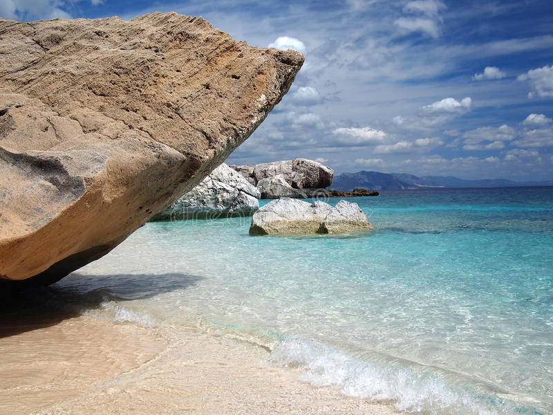 παραλία Σαρδηνία στοκ εικόνα
