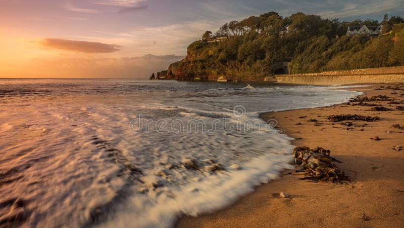 Παραλία σε Dawlish στοκ εικόνα