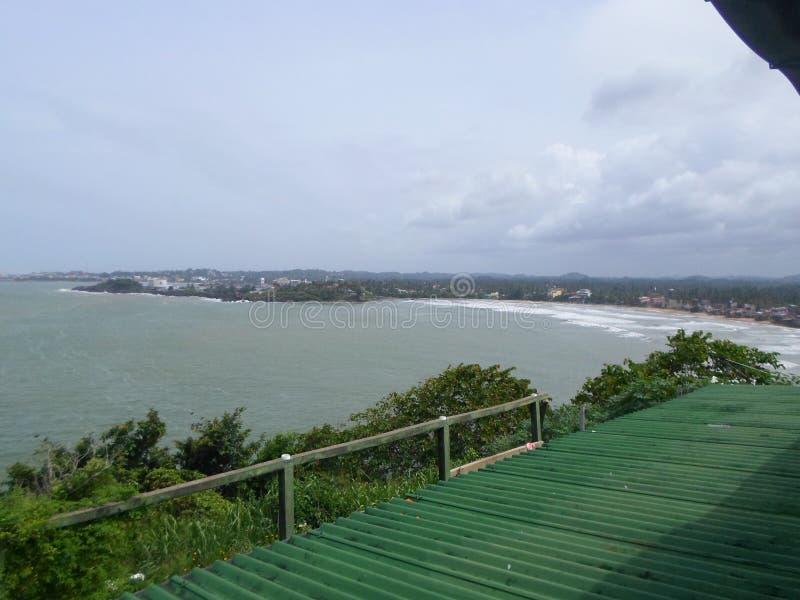 Παραλία Σρι Λάνκα Beautyful galle στοκ εικόνες
