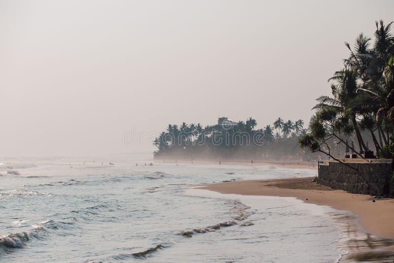 παραλία στις τροπικές διακοπές στοκ εικόνες