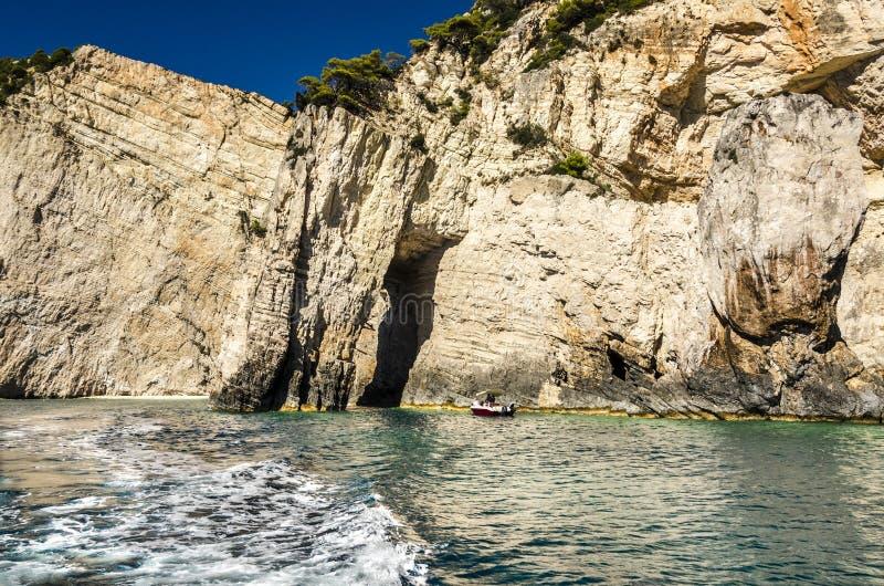 παραλία στον τρόπο Ζάκυνθος στοκ φωτογραφίες με δικαίωμα ελεύθερης χρήσης