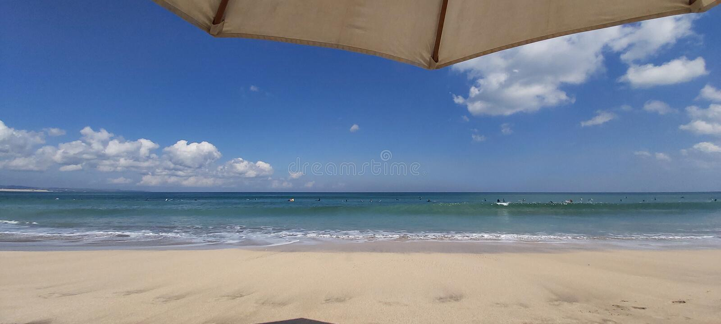 Παραλία στο Μπαλί στοκ εικόνα