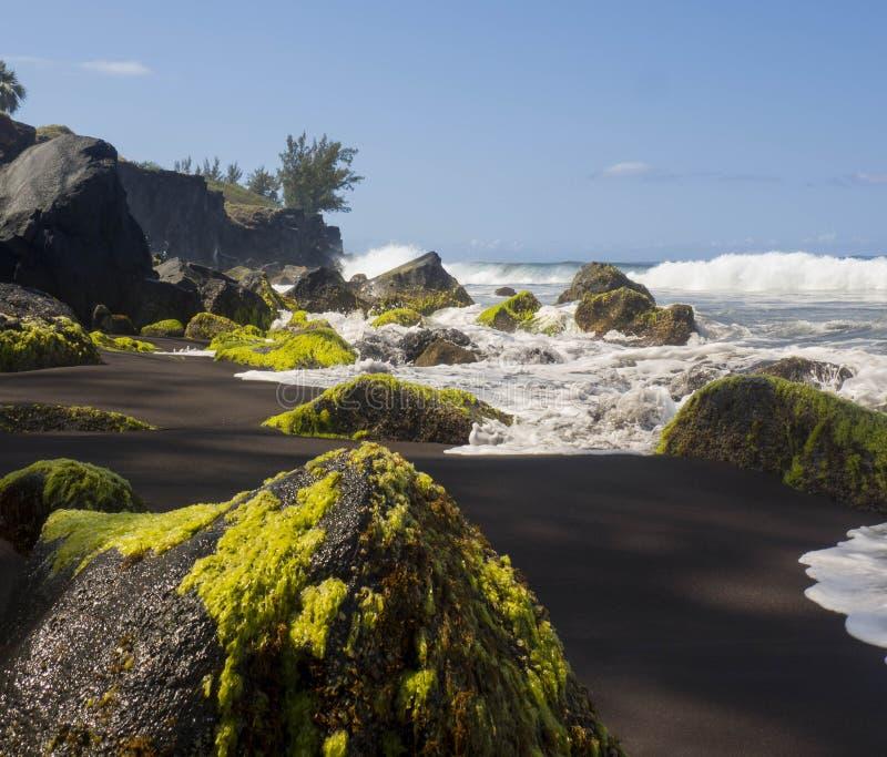 Παραλία στο νησί συγκέντρωσης στοκ εικόνα με δικαίωμα ελεύθερης χρήσης