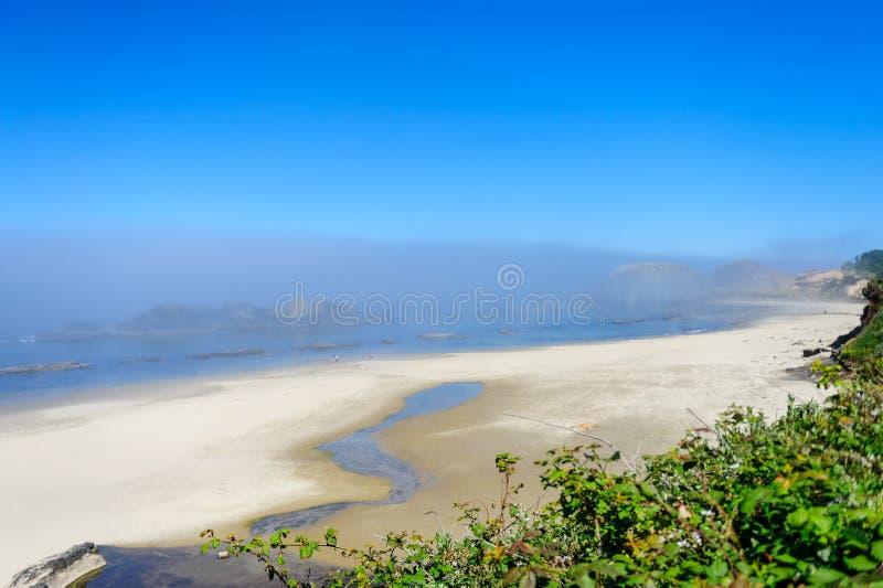 Παραλία στο Όρεγκον στοκ εικόνα με δικαίωμα ελεύθερης χρήσης