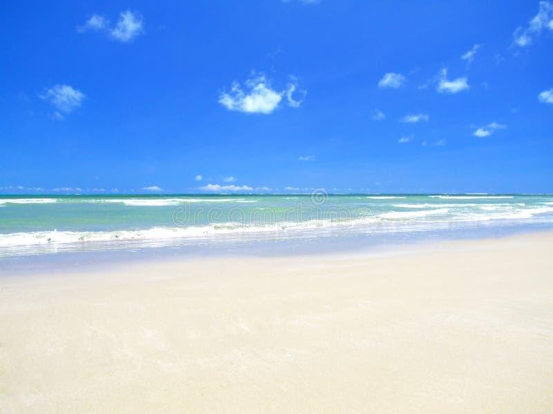 παραλία τέλεια στοκ εικόνα με δικαίωμα ελεύθερης χρήσης
