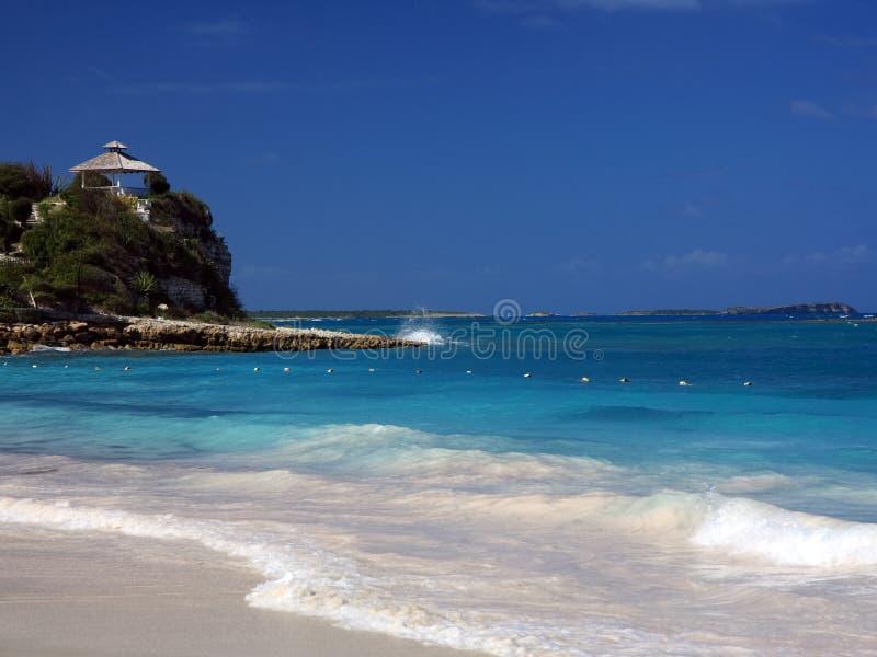 παραλία της Αντίγουα στοκ εικόνα