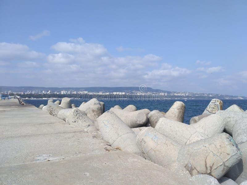 Παραλία της Βάρνας στοκ φωτογραφία με δικαίωμα ελεύθερης χρήσης