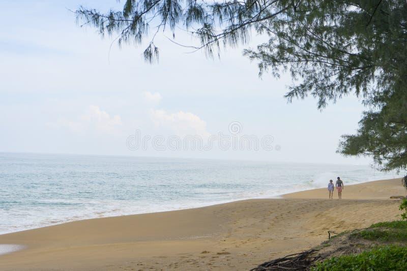 Παραλία της Mai Khao σε Phuket, Ταϊλάνδη στοκ φωτογραφία με δικαίωμα ελεύθερης χρήσης