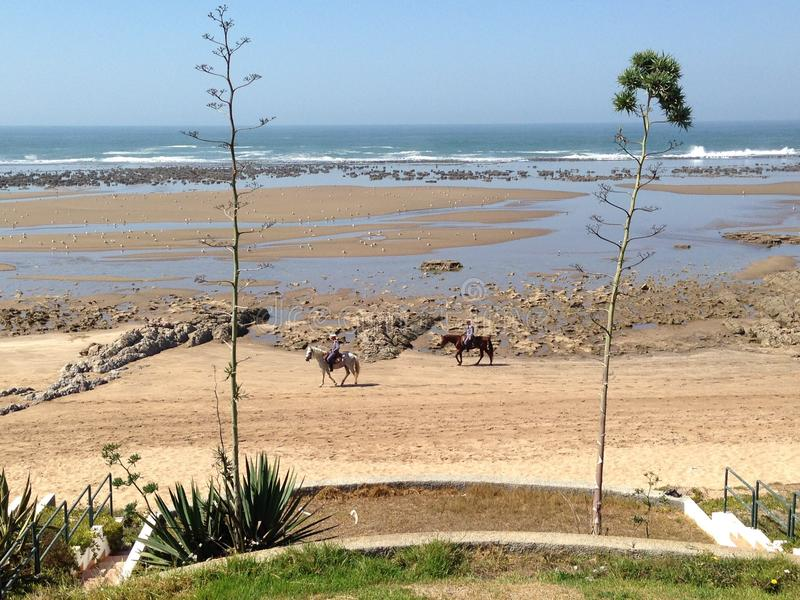 Παραλία τοπίων στοκ φωτογραφία με δικαίωμα ελεύθερης χρήσης
