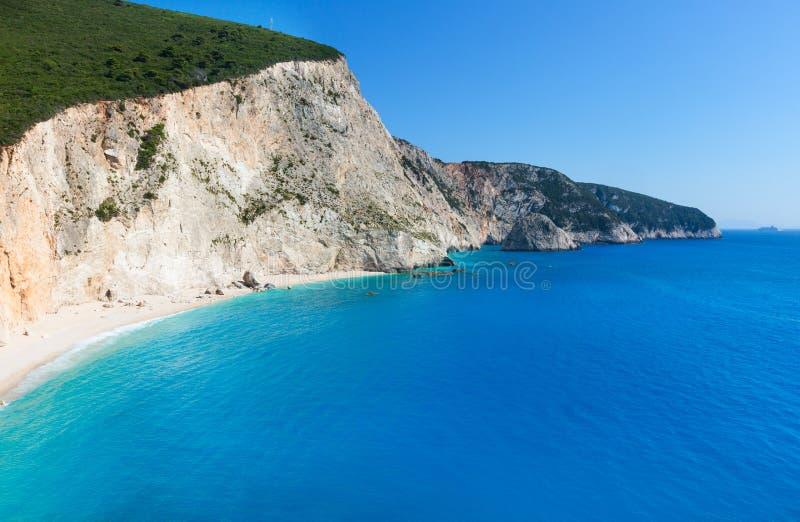 Παραλία του Πόρτο Katsiki (Λευκάδα, Ελλάδα) στοκ φωτογραφίες