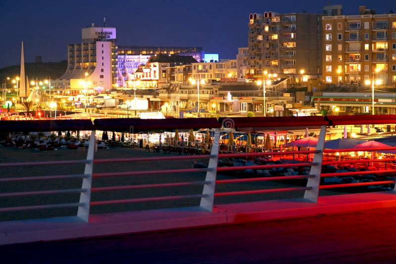 Παραλία του Scheveningen στοκ φωτογραφία με δικαίωμα ελεύθερης χρήσης