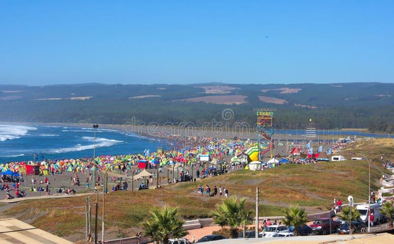 Παραλία Χιλή ΙΙΙ Valparaiso στοκ φωτογραφίες με δικαίωμα ελεύθερης χρήσης