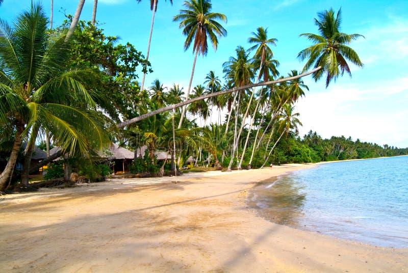 παραλία όμορφη Ταϊλάνδη τρο&p στοκ φωτογραφία με δικαίωμα ελεύθερης χρήσης