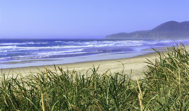 Παραλία Όρεγκον Rockaway μια ηλιόλουστη ημέρα στοκ φωτογραφίες με δικαίωμα ελεύθερης χρήσης