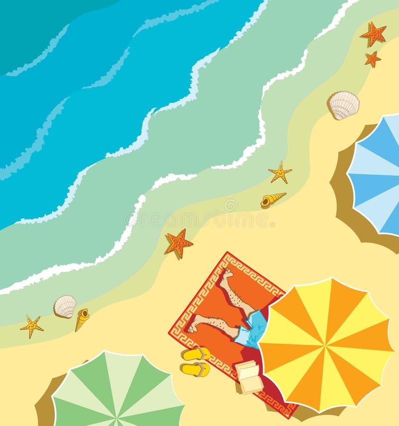 παραλία ελεύθερη απεικόνιση δικαιώματος
