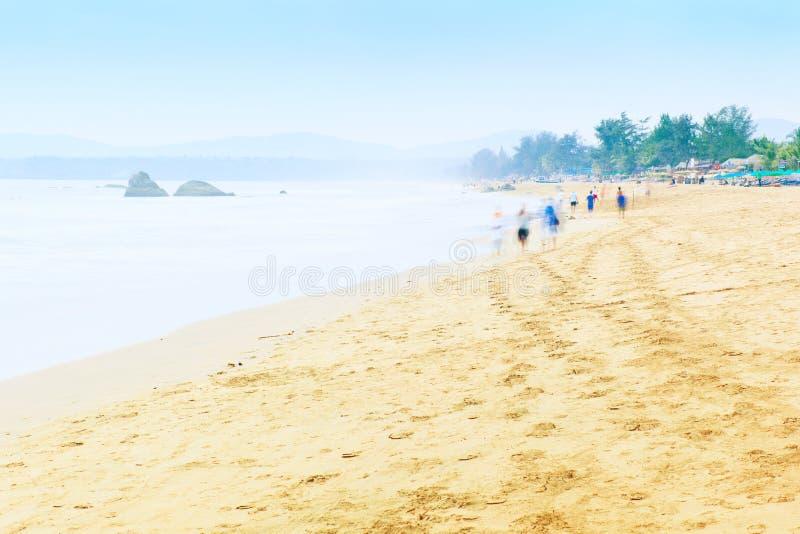 Παραλία Agonda σε Goa στοκ φωτογραφία με δικαίωμα ελεύθερης χρήσης