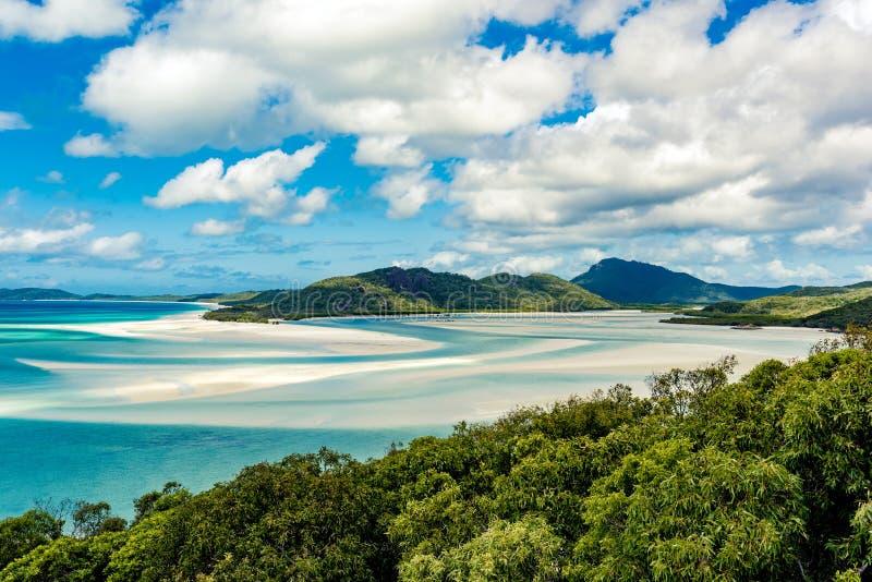 Παραλία Airlie του Whitsundays στοκ εικόνες